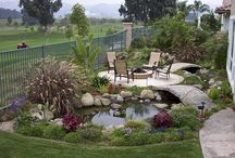 Outdoor Spaces / by Kathy Sprague