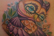 Owl tattoos / by Wendy Solski-Pedroni