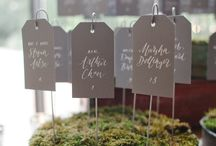 Escort Cards / by Wedding Crafters