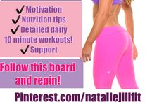 "30 Day CHALLENGE with Natalie Jill Fitness / TAKE THE 30 DAY CHALLENGE!  Be Happy...Be Healthy... Be FIT! with Natalie Jill FOLLOW this board. START with the ""START HERE"" Pin. Check the board daily: Each day for 30 days you will see 3 pins a FIT  workout,a HEALTHY nutrition tip or recipe and a HAPPY motivation!  Share the FUN -Invite your friends to join in! OH! And look out for bonuses that are added throughout!  / by Natalie Jill Fitness"