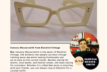 Vintage Style: Vanessa Messersmith / Vanessa Messersmith from Blacklist Vintage  / by Mpls.St.Paul Magazine