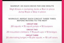 Workouts! / by Jayme Roberts