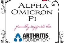 AOII-Alpha Omicron Pi / by Angry Julie Monday