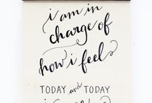 Repeat Daily / Messages to self / by Sheila Winderlich