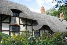 Stratford-upon-Avon / Stratford-upon-Avon is the charming Warwickshire town where Shakespeare was born, and you can still visit the cottage where he first drew breath. / by Love GREAT Britain