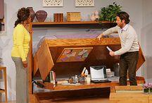 Storage ideas- Yurt living / by Colorado Yurt Company