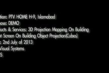 """""""3D Projection Mapping Pakistan"""" / A new concept in Decorating. 3D Projection Mapping by VISYS www.visys.co / by VISYS Visual Systems"""