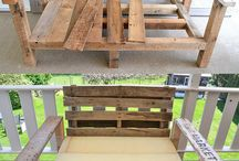 Pallet furniture / by Amanda Lavery