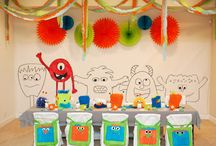 Birthday Party - Monster Theme / by Meals 'n' Mascara
