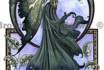 Mystical  Whimsical Mythical Magical Spiritual Art / by Purita Avila