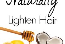 natural hair products / by Annegrete Enwright