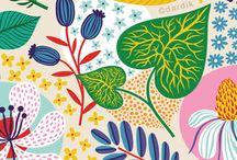 ● Patterns and textiles ● / Patrones - Textiles - Diseño textil - patterns  / by Melina Yuros