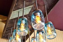 Rustic lighting / by Christy Thomas