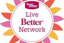 The BHG Live Better Network / Decor inspiration, DIY, how-to's, trends and creative ideas from some of our favorite bloggers! Featuring BHG products sold at Walmart. / by BHG Live Better