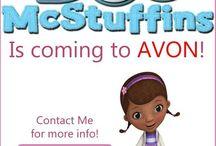 Avon Doc McStuffins / by Avon Representative, Emily Seagren