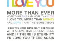 Words / by Kaytee Landram