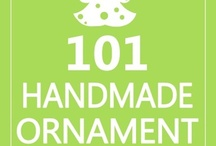 Christmas Ornaments / Handmade ornaments with tutorials, tutorials, and more tutorials / by Everything Etsy