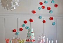 party decor / by Lea Tomkinson