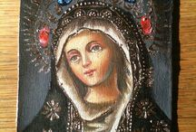 mary medicine...the divine mother / by Julie Moore