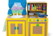 diy play kitchens / by n mccormick