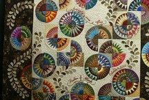 Quilts / Love to sew and trying new ideas.  Cleaning up scraps and old material and making scrappy quilts the new craze / by Pamela