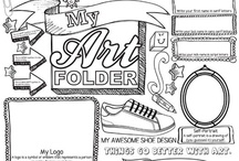 Art Worksheets / by Kimberly G.