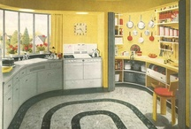 Kitchens 1940's & 1950's / by Debbie Dargush