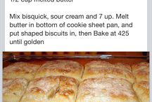 Breads & sandwiches / by Sara Pribyla