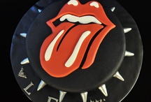 Rolling Stones cake / by Fancy Fondant Cakes by Emily Lindley