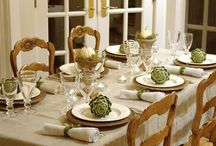 Home for the holidays / Thanksgiving Table / by Amy Denien