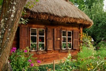 Thatched roof cottages / by Robyn Young