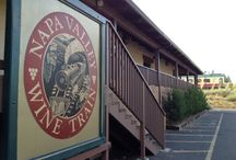 The Wine Train's Route / Join us for 36 miles up and down Napa Valley! Here is a glimpse of what you can see and experience. / by Napa Valley Wine Train