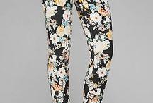 printed pants / by Mecha Nerone
