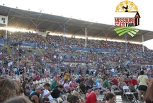Concerts/Tractor Pulls in Pepsi Grandstand / Modern Country, Classic Country Classic Rock, New Rock, Alternative, Bluegrass, Comedy - you name it, we've got it on the Missouri State Fair Pepsi Grandstand Stage! / by Missouri State Fair