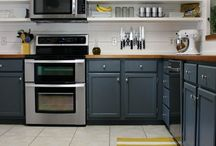 Gorgeous Kitchens / by Carrie Spalding @ Lovely Etc.