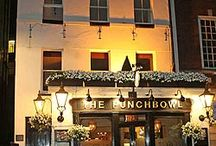 London / Nearby Coach and Horses Pub / by Kim Garvey