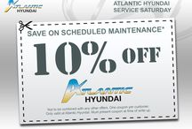 Service / All about our service department!! / by Atlantic Hyundai