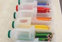 Reciclar, reusar, reduce / by Catalina Prieto Guerra