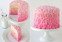 Cakes - to pretty to eat ones !!!! / ......how do you cut into such beauties !!! / by Trish Baker