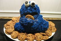 cookie monster birthday / by Pink Taffy Designs