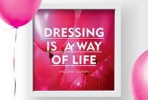 InspireMe | Fashion Quotes / by Fullah Sugah