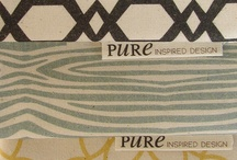 Organic Mood Board { Teal, Graphite, Mustard, Cream } / by PURE Inspired