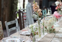 Table decorations / by Samantha Williams