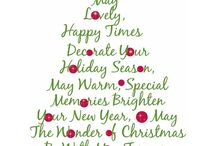 Christmas qoutes / by Cheryl Rose