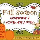 Fall-Themed Speech Language Therapy / by Susan Nealon