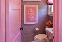 bathroom prettiness / by sam penner