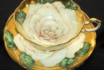 Tea time pots & cups/saucers / by Gloria Hampton