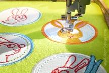 machine embroidery / by Belinda Lee