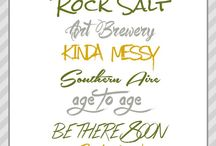 Fonts / by Sherry Cheever