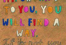 Words / by Danielle Elliott
